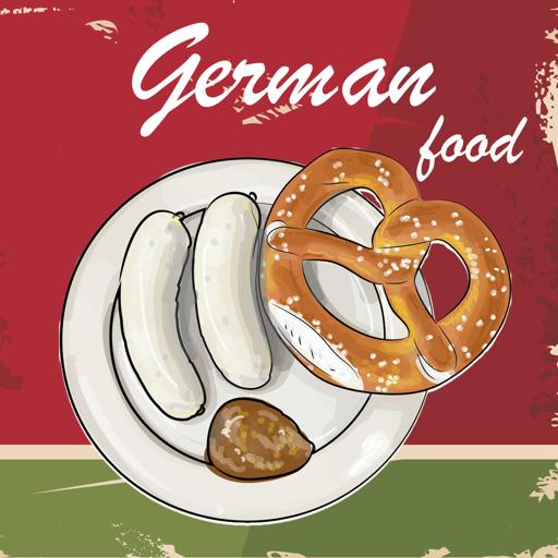 健康のドイツ料理 クックブック。クイックとベストレシピ&料理を調理 LOGO-記事Game