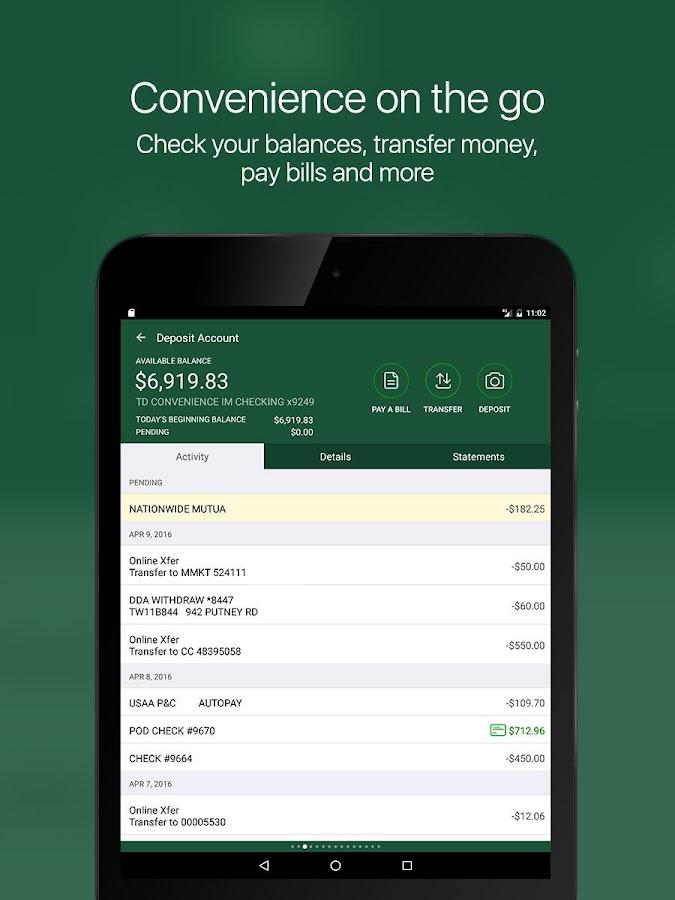 Adding Person Bank Account