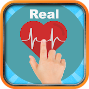 Real Heart Rate Monitor Finger