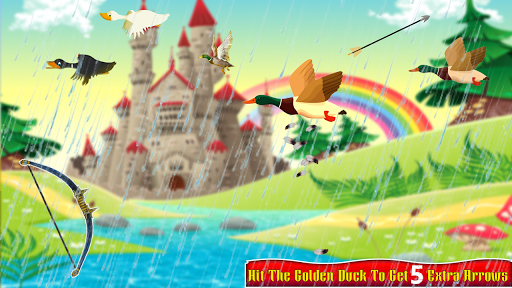 Real Duck Archery 2D Bird Hunting Shooting Game screenshots 3