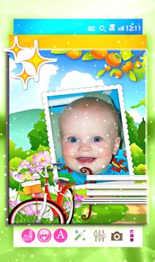 برنامج تركيب الصور اطفال screenshot 4