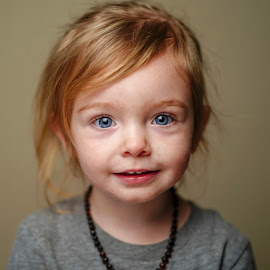 Blue by Cameron  Cleland - Babies & Children Child Portraits ( red, sony, beauty, winter )