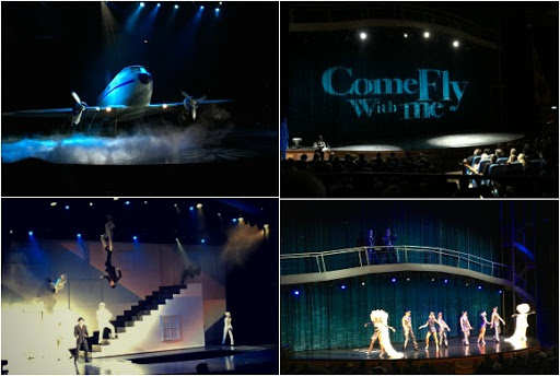 Come Fly With Me Show on the Oasis of the Seas