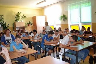 Photo: Integracja klas I gimnazjum