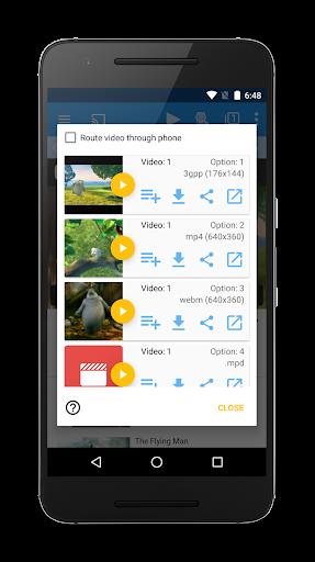 WebVideoCaster Chromecast DLNA
