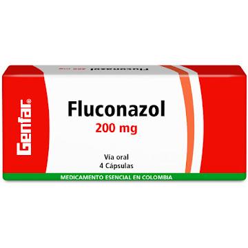 Fluconazol Genfar 200Mg   Tabletas Caja X4Tab.