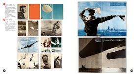 15 afbeeldingen van tijdschrift 'Front' met bijbehorende Japanse tekst