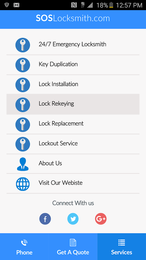SOS Locksmith- screenshot