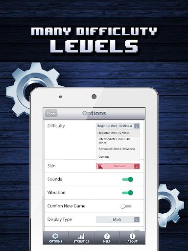 Minesweeper Classic HD - Mines Deluxe King 1.1 screenshots 7