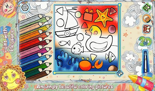 Kids Coloring 3D LiveBook3D- screenshot thumbnail