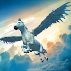 Flying Pegasus Simulator 2017 icon