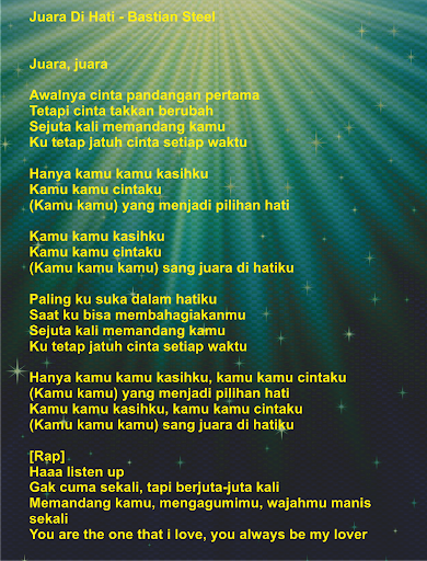 Download Lagu Juara Di Hatiku : download, juara, hatiku, Bastian, Steel, Juara, Dihati, Kumpulan