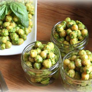 Chickpea Salad with Vegan Pesto Recipe (gluten-free)