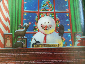 "Photo: Clark: ""It's Snowbama!"""