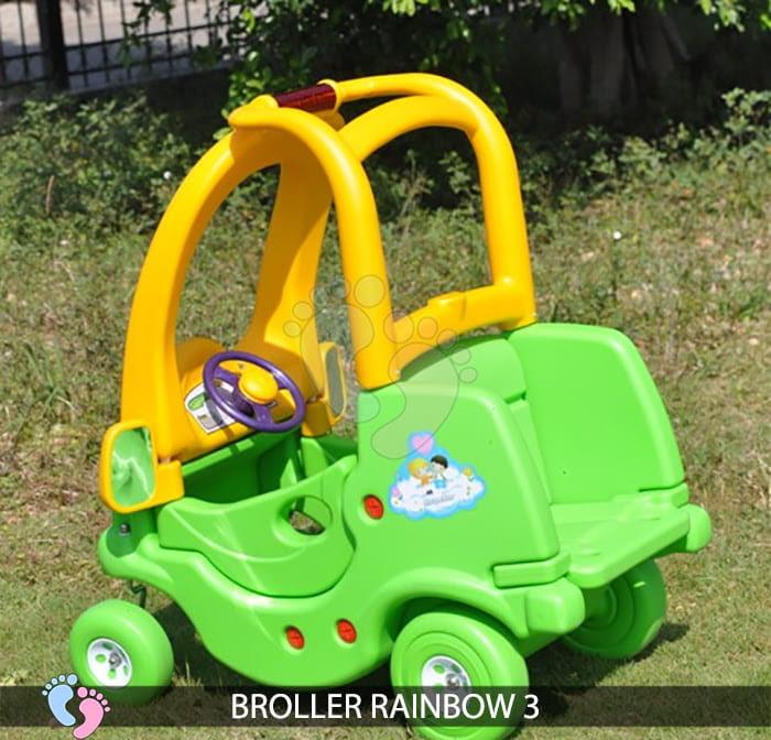 Xe chòi chân Broller Rainbow 3 cho bé 6