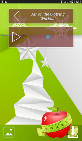 android Christmas Fitness Holidays Screenshot 14
