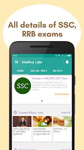 MadGuy Labs : SSC CGL, CHSL, MTS, Steno & Railways - náhled
