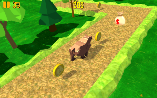 ZigZag Scream: Blocky Animals  screenshots 3