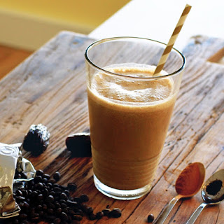 Spiced Coffee Smoothie.