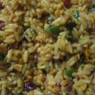 Orange Cranberry Rice with Almonds