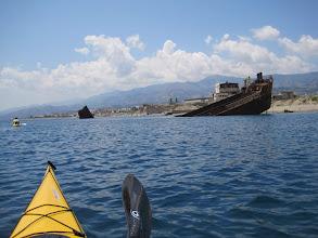 Photo: Relitto vicino Messina