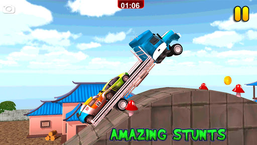 Multi Truck Euro Car Transporter Game 2018 Free 1.0 screenshots 4
