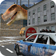 Dino in City-Dinosaur N Police apk