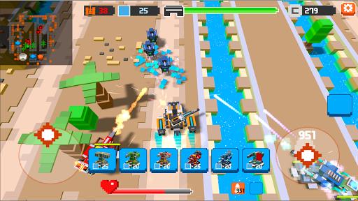 Code Triche War Boxes: Tower Defense APK Mod screenshots 1