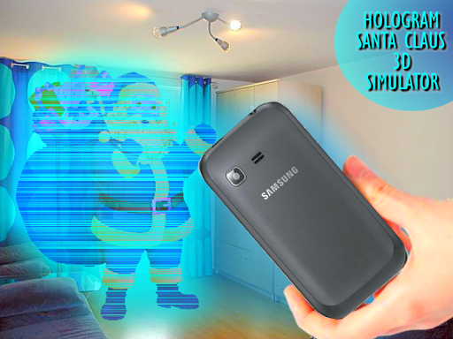 Santa Claus Hologram Simulator