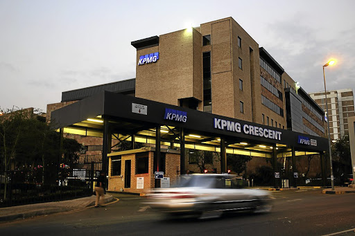 KPMG's head office in Parktown,  Johannesburg.  Picture: ALON SKUY