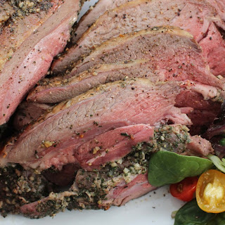 Slow-Roasted Herbed Leg of Lamb Recipe