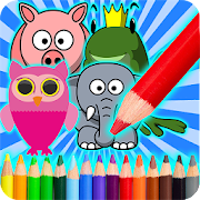 Paint Animals Coloring