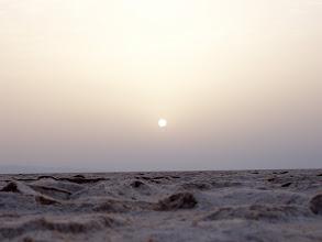 Photo: salt desert, Tunisia