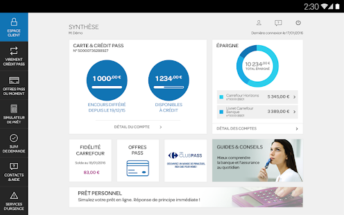 Carrefour Banque- screenshot thumbnail