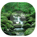Waterfall Sounds | WaterFlow Wallpapers and Music icon