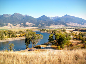 Photo: Yellowstone River, Paradise Valley,  Livingston Montana