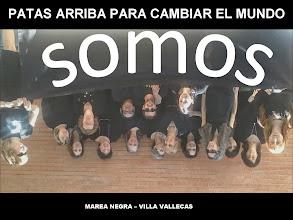Photo: Patas arriba. Viernes 24-M