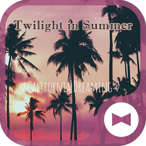 Cute Wallpaper Twilight in Summer Theme Icon