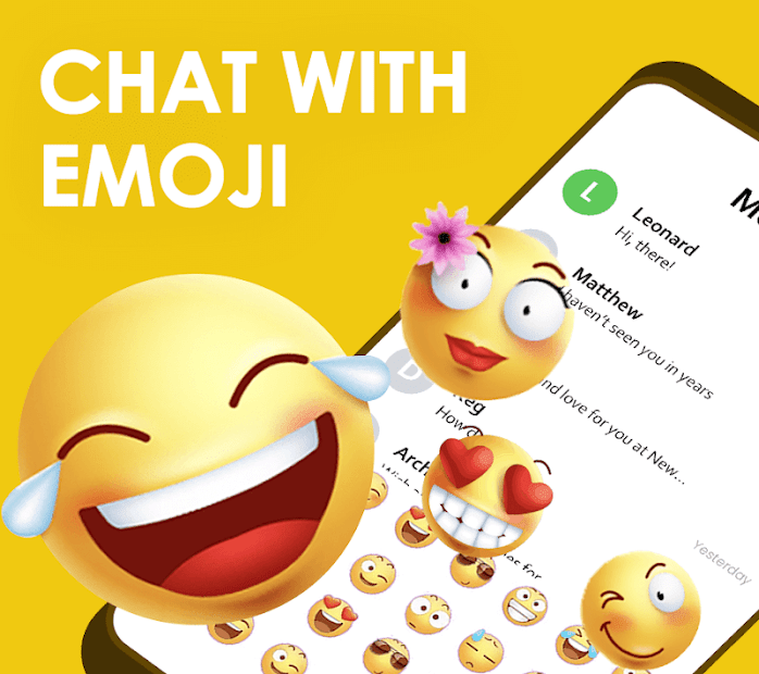Quick SMS Launcher: Emoji, Customize Chat Android App Screenshot