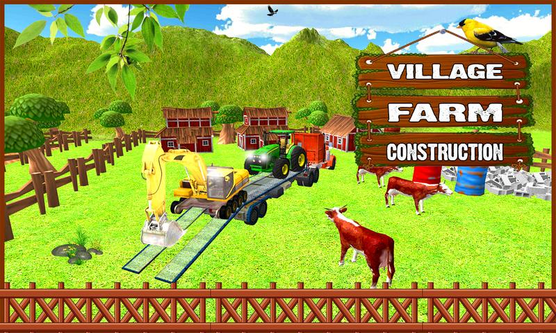 android Farm Construction Simulator Screenshot 0