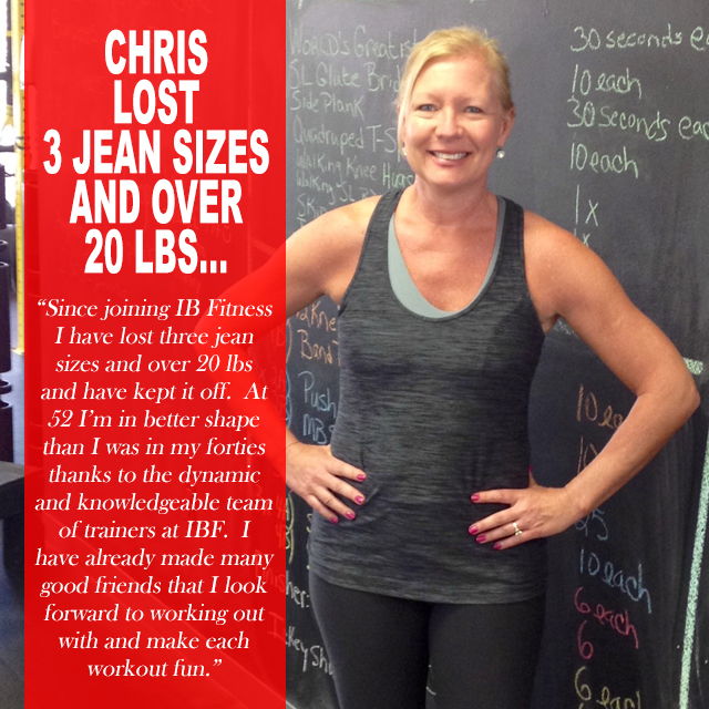 IB Fitness Imperial Beach Success Story Chris