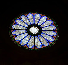 Photo: Il rosone centrale