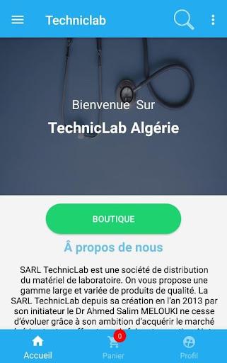 Techniclab screenshot 1
