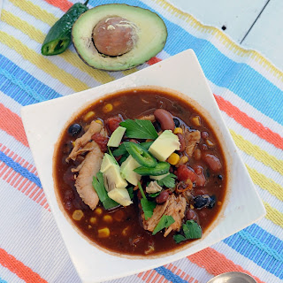 Easy Turkey Taco Soup