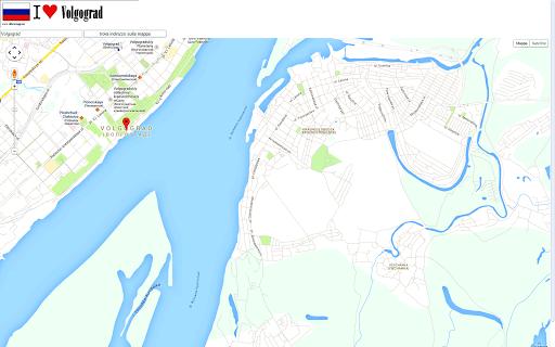 Volgograd map