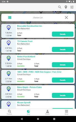 ChargeHub - Find EV & Tesla Charging Stations screenshots 22