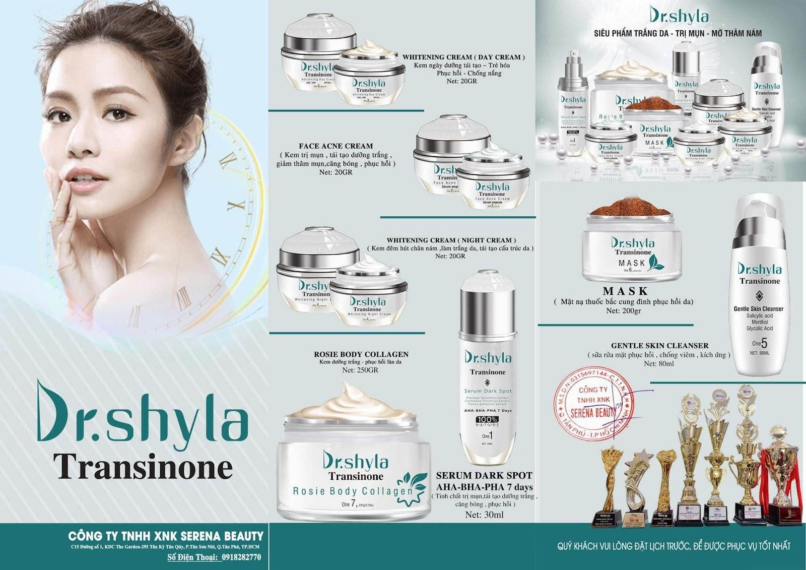 Thương hiệu Dược mỹ phẩm Dr.Shyla Transinone sản phẩm làm đẹp của thập kỉ mới - Ảnh 4