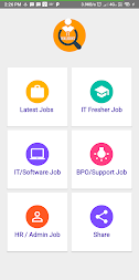 Daily Walkins - IT jobs for developers & freshers APK screenshot thumbnail 1