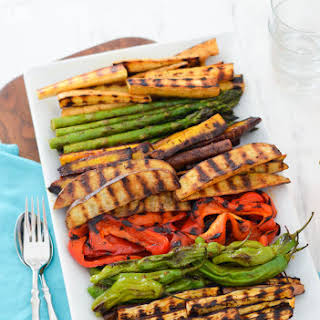 Grilled Veggie Hors d'oeuvres.