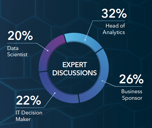Expert Discussions. Source: SAS Analytics Platform Expert Interview Study, N=132